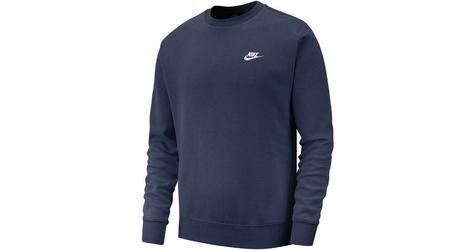 Nike sportswear club crew bv2662-410 xl granatowy