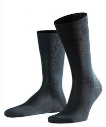 Eleganckie czarne bawełniane skarpety falke tiago rozmiar 43-44