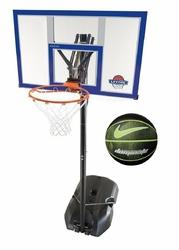 Zestaw do koszykówki Lifetime New York 90000 + Piłka do koszykówki Nike Dominate 8P - NKI0004407-044