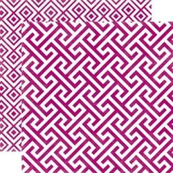 Papier 30,5x30,5 cm Style EssentialMulberry Geome - 12