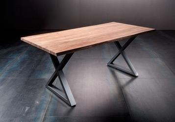 Stół catania obrzeża ciosane natur, 180x90 cm grubość 2,5 cm