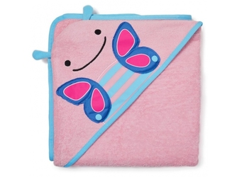 MOTYLEK ręcznik z kapturem ZOO