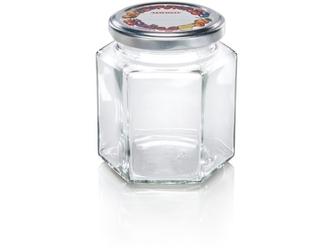 Słoiki sześciokątne 314 ml