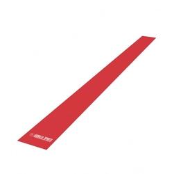 Taśma guma oporowa czerwona 120 cm