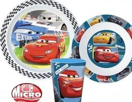 Zestaw obiadowy cars auta disney pixar