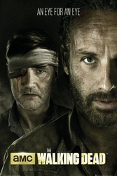 The walking dead - eye for an eye - plakat