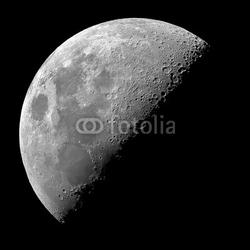 Obraz na płótnie canvas trzyczęściowy tryptyk ćwierć księżyca