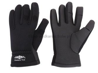 Rękawiczki wędkarskie neoprenowe Mikado rozm. XL