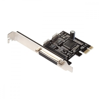 I-tec pci-express card 2x serial rs232 + 1x parallel