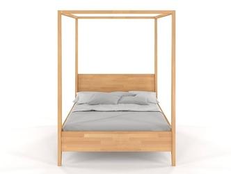 Łóżko drewniane bukowe z baldachimem visby canopy