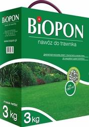 Biopon, nawóz granulowany do trawnika, 3kg