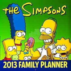 The Simpsons family - kalendarz 2013