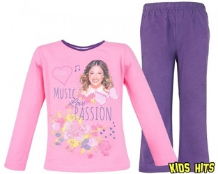 Piżama violetta passion 6 lat