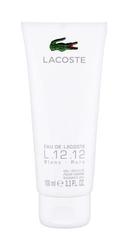 Lacoste eau de lacoste l.12.12 blanc perfumy męskie - żel pod prysznic 100ml