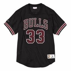 Koszulka mitchell  ness nba chicago bulls scottie pippen name  number mesh - nnmpmg18062-cbublck96spi - scottie pippen