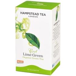 Hampstead | cool lime green - herbata zielona z limonką saszetki 40g | organic