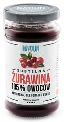 Natjun żurawina 105 owoców 220g