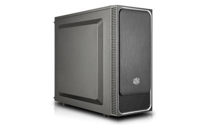 Cooler master obudowa masterbox e500l czarno-srebrna