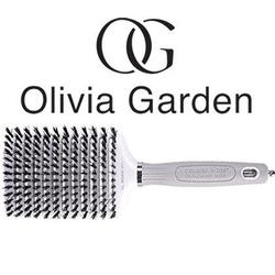 Olivia garden ceramic ion xl boar vent, szczotka do pielęgnacji włosów z włosiem dzika