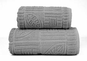 BONITA POPIELATY ręcznik bawełniany GRENO - popielaty