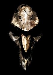 Overwatch - Reaper - plakat Wymiar do wyboru: 40x50 cm