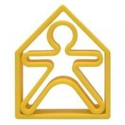 Zabawka kreatywna dena kid + house - yellow