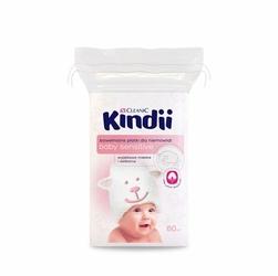 Cleanic Kindii, płatki kosmetyczne, 60 sztuk