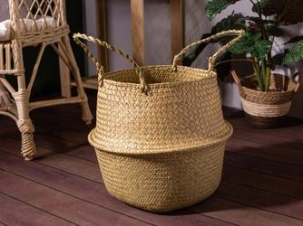 Koszyk  osłona na doniczkę z trawy morskiej altom design boho 35 cm
