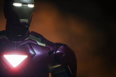 Iron man 2 mark vi ver2 - plakat wymiar do wyboru: 84,1x59,4 cm