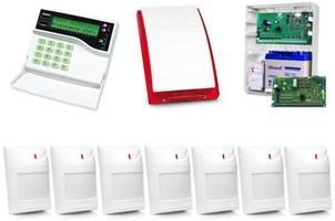 Alarm satel ca-10 lcd, gprs-a, 7xaqua plus, syg. zew. sp-4001 - możliwość montażu - zadzwoń: 34 333 57 04 - 37 sklepów w całej polsce