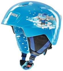 Kask narciarski uvex manic blue snow bunny 46-50cm