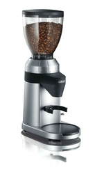 Młynek do kawy graef cm800 - klasa 2  srebrny || czarny