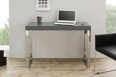 Nowoczesne, ciemnoszare biurko grey desk 120 cm