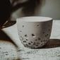 Czarka do herbaty liściastej stratus szara 200 ml - szara