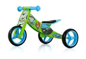 Milly mally jake bob drewniany rowerek biegowy 2w1 + prezent 3d