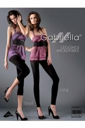 Gabriella 138 microfibra short nero legginsy