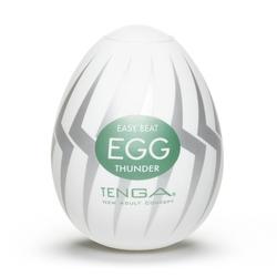 Sexshop - tenga masturbator - jajko egg thunder 6 sztuk - online