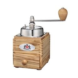 Młynek do kawy z korbką drewno oliwne montevideo zassenhaus