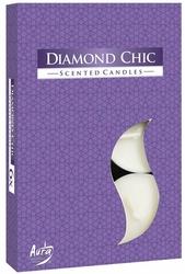 Bispol, Diamond Chic, podgrzewacze zapachowe, 6 sztuk