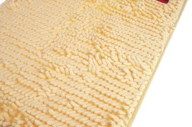 Dywanik łazienkowy 59 x 39 cm kremowy