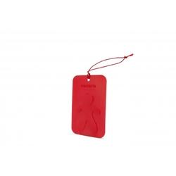 Mrmrs cesare scented card red peppermint - zawieszka zapachowa mięta pieprzowa
