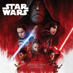 Star Wars The Last Jedi - kalendarz 2019