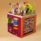 B.toys zany zoo - olbrzymia drewniana kostka edukacyjna