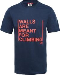 T-shirt męski the north face walls climbing t93s3sh2g