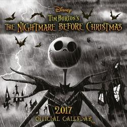 Nightmare before christmas halloween - oficjalny kalendarz 2017