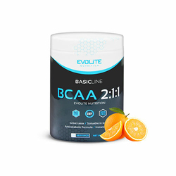 Evolite BCAA 2:1:1 400g Super cena - Crazy Orange