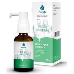DZIKIE OREGANO 100 naturalny olej, 90 naturalnego karwakrolu, 30 ml