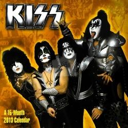 Kiss - kalendarz 2013