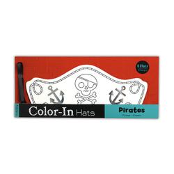 Mudpuppy Kolorowanka czapki-Piraci