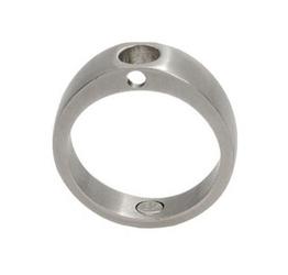 Pierścionekbaza magnetyczny 470 ze stali szlachetnej matowy